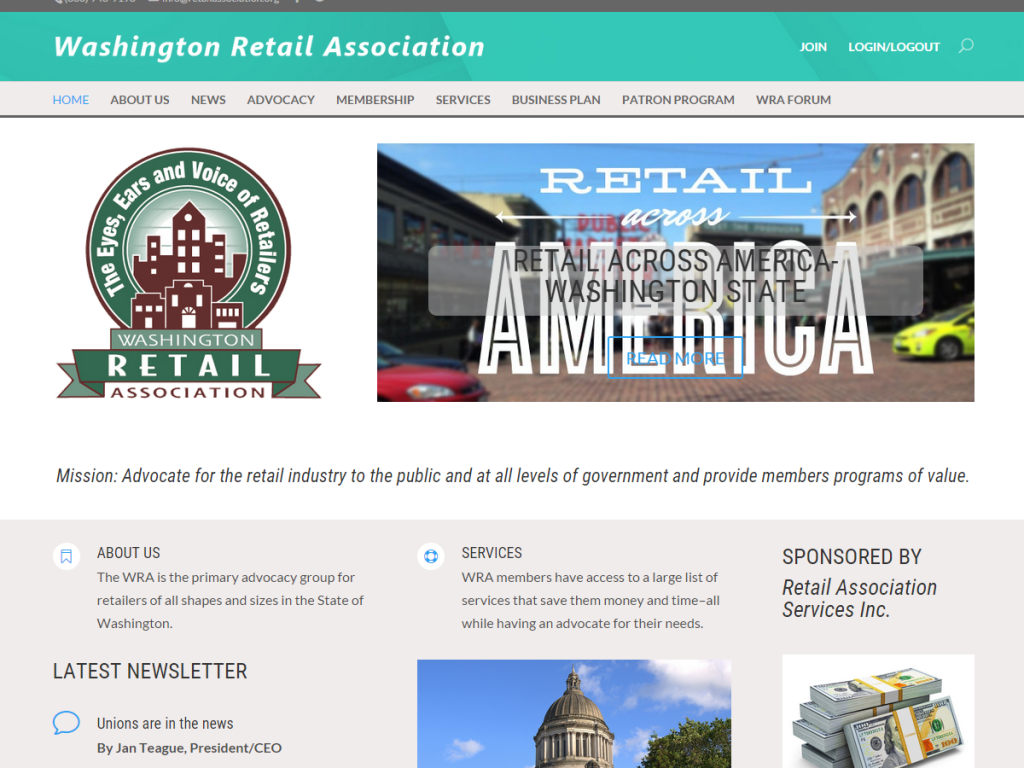 Association Website